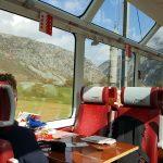 Glacier Express uitzicht