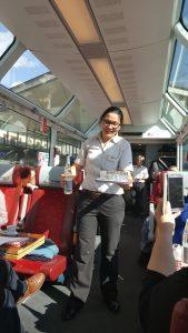 Glacier Express serveerster