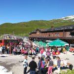 Jungfraubahn-station Kleine Scheidegg instappen