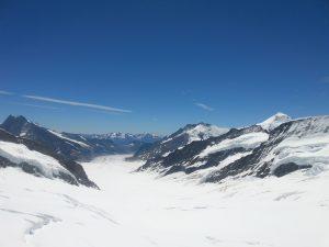 Jungfraubahn-Aletschgletsjer vanaf Jungfraujoch