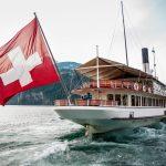 Gotthard Panorama Express boot Vierwaltstättersee