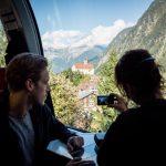 Gotthard Panorama Express kerkje bij Wassen